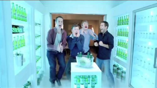 HEINEKEN (Bière) Walk in Fridge  (Meilleures Publicités)