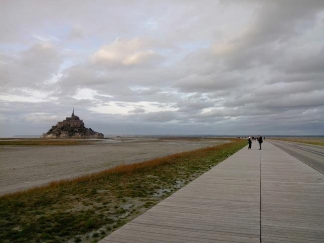 Nouvel accès au Mont St Michel