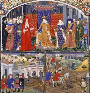 Evaluation sur la société au Moyen Age