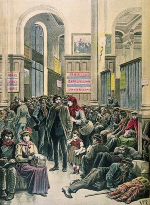 Histoire Moderne-2:  Le droit d'asile
