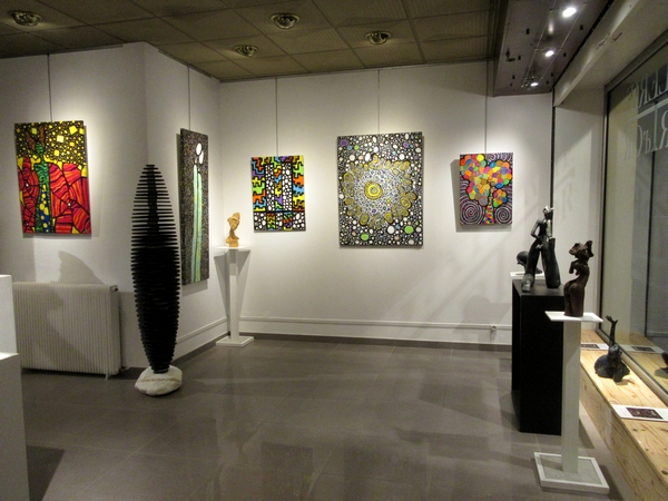 Rachel Launay-Painchaud et Claude Rivière exposent à la Galerie d'Art et d'Or de Châtillon sur Seine