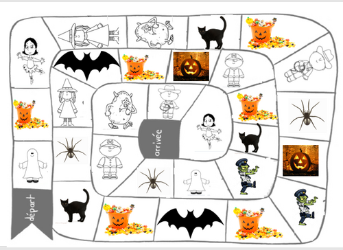Jeu d'halloween : Trick or treat