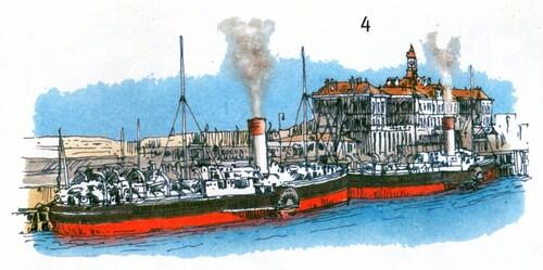 La gare maritime