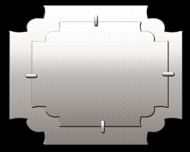 Plaques Métal no:4