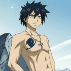 Grey de Fairy Tail