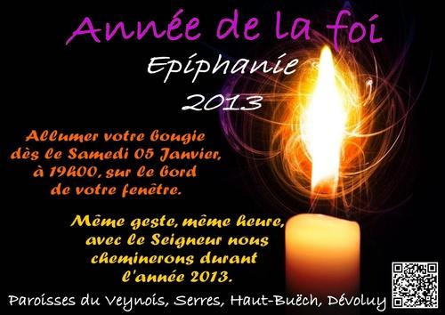 Année de la foi - Epiphanie 2013