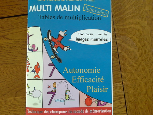 Apprendre les tables de multiplication loustics for Methode apprentissage table de multiplication