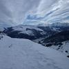 Du sommet du pic Barsaut, Moulle de Jaut, Gabizos et Ger