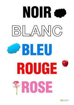 affiche des couleurs 1