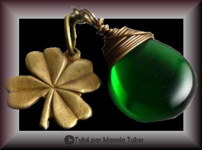 Tube bijoux St Patrick 2974
