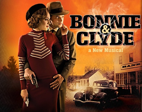 """""CINEMA.- LES AFFICHES Du Film BONNIE & CLYDE"""""