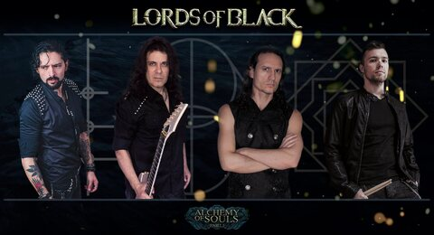 "LORDS OF BLACK - ""Into The Black"" Clip"