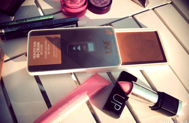 Make-up ensoleillé.