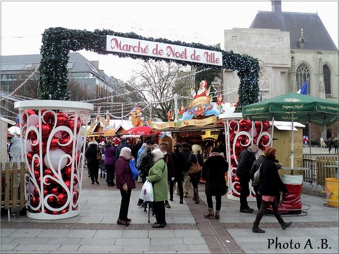 Marché de Noël - Place Rihour - Décembre 2015