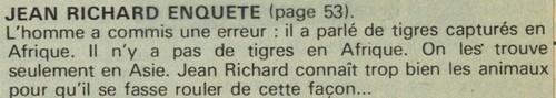 enquête de Jean Richard n° 29