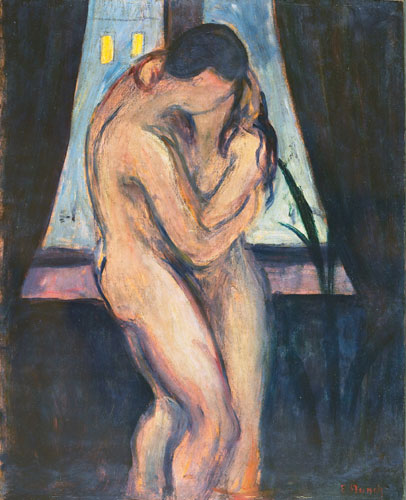 Edward Munch, Le baiser