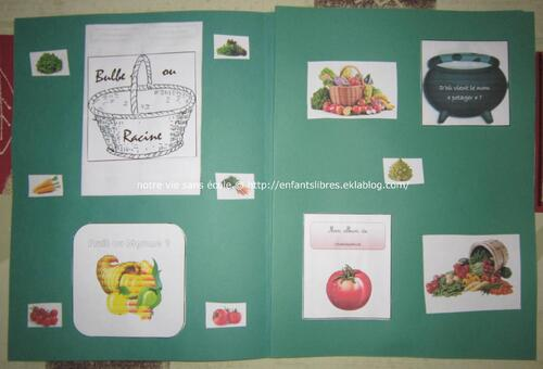Les légumes - Esteban