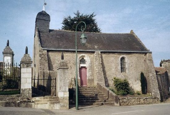 Chapelle Notre-Dame du Châtelier, ancienne église paroissiale de Saint-Lumine-de-Coutais