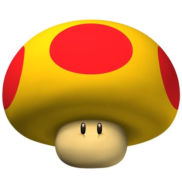 La sacoche objets les champignons meridas et lily - Tous les personnages mario kart wii ...