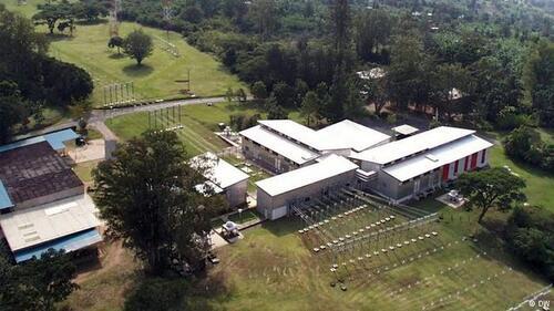 Deutsche Welle ferme station relais Kigali