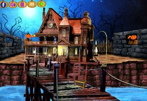 Jouer à NSR Halloween beach house