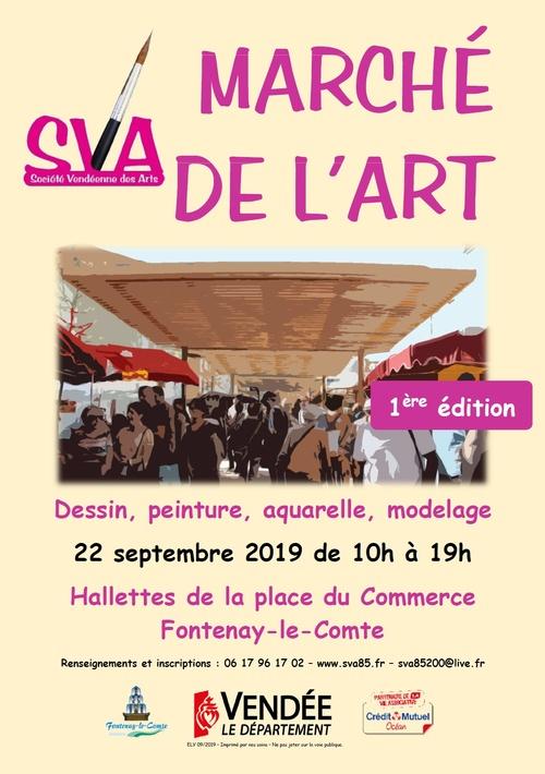 1er Marché de l'art le 22 septembre 2019