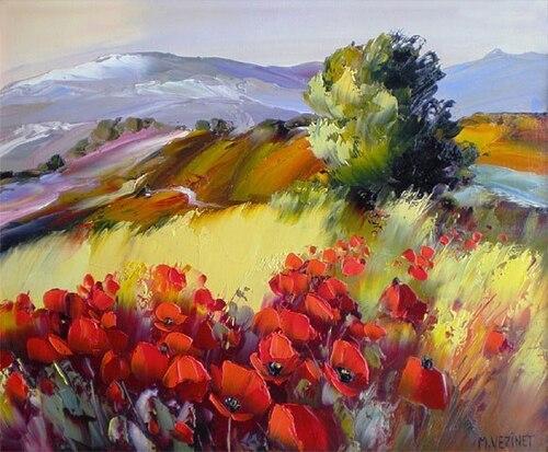 Peintures de : Michel Vézinet