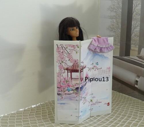 Studio-photos Barbie : la chambre (1)