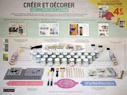 N° 1 Créer et décorer avec la peinture à la craie - Test