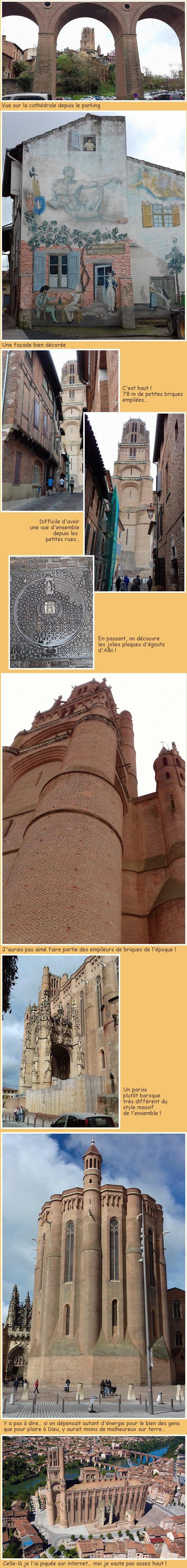 Sainte Cécile à Albi
