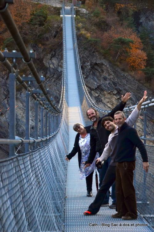 Les passerelles himalayennes en Trièves et nos hôtes Australiens Couchsurfing de Perth