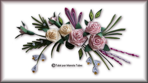 Tubes Quilling Arts floral 2991