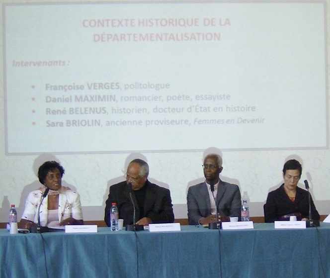 Célébration du 70 e anniversaire de la départementalisation au Ministère de l'Outre-mer