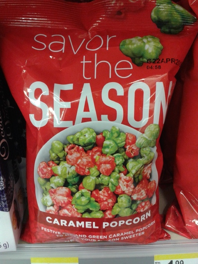 Pop corn de saison