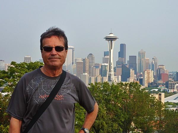 Jour 29 Seattle vue de Kerry Park Norbert 2