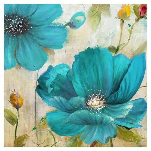 peintures fleurs