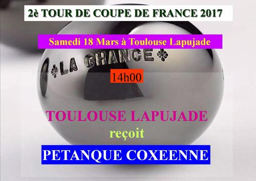 COUPE DE FRANCE 2è tour