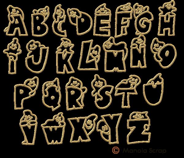 Alphabets page 2