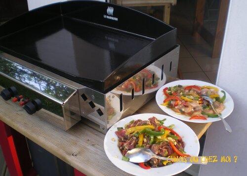 Barbecue coréen chez CharléSofi