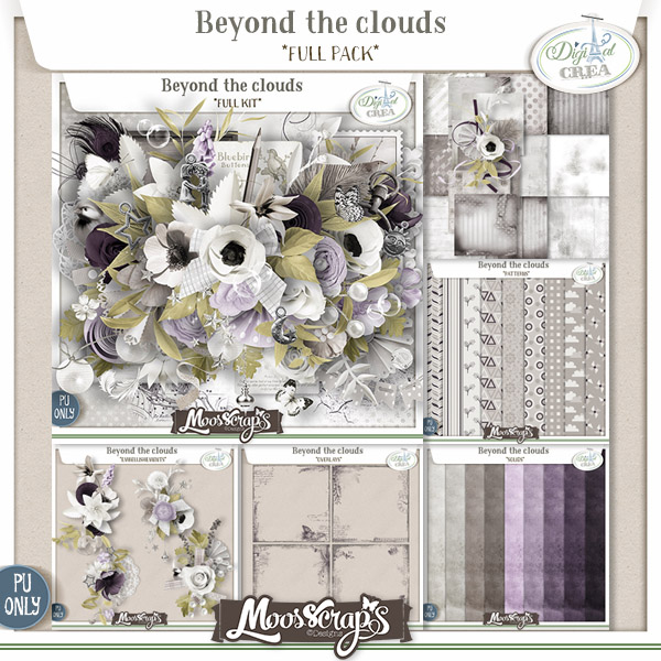 Beyond the clouds - full pack