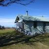 Cabane de chasseurs au sommet de Trona