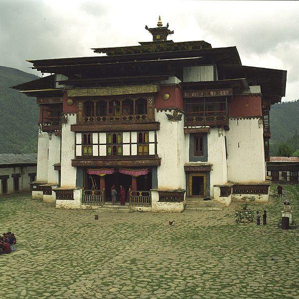 600px-Gangtey Monastery Bhutan 2001