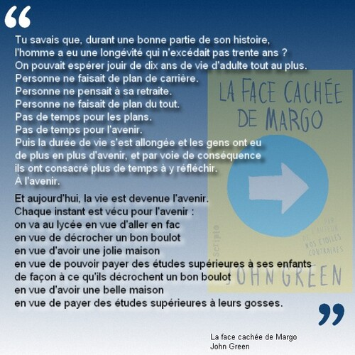 Citation La face cachée de Margo de John Green #2