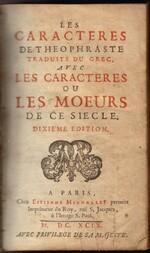Jean de La Bruyère - 1645-1696