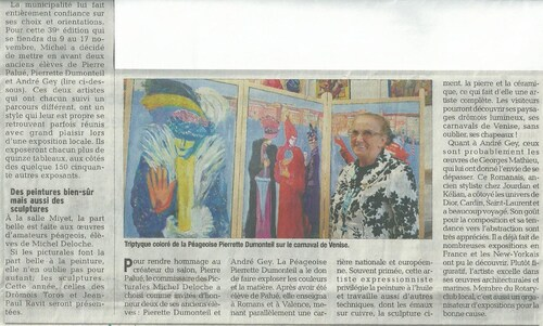 picturales 2013 : articles de presse