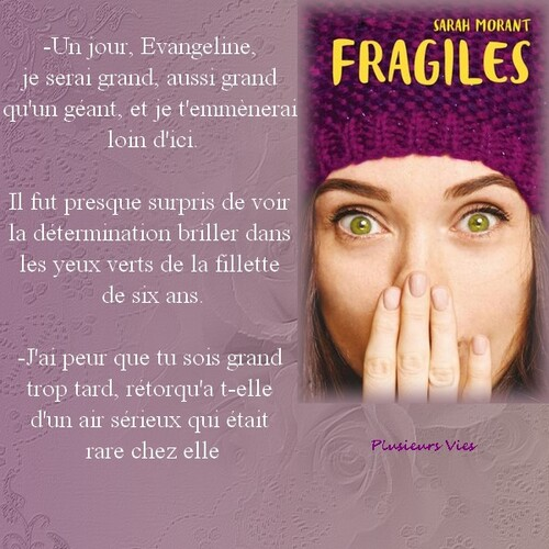 Citation Fragiles de Sarah Morant