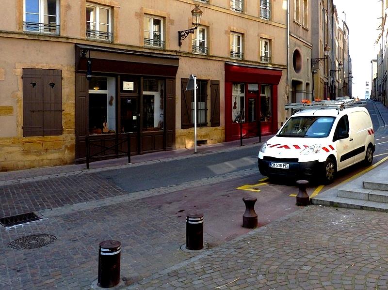 Metz / Le Tombois dans les Hauts de Sainte-Croix...
