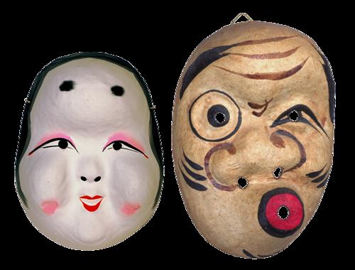 Masques de Carnaval Série 1 (nouveau)