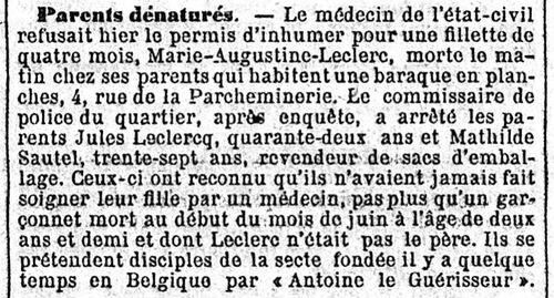 Leclerc - Parents dénaturés (Journal des débats politiques et littéraires 22 jui 1912)