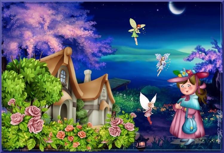 Défis des amies... Marjolaine... Pink...